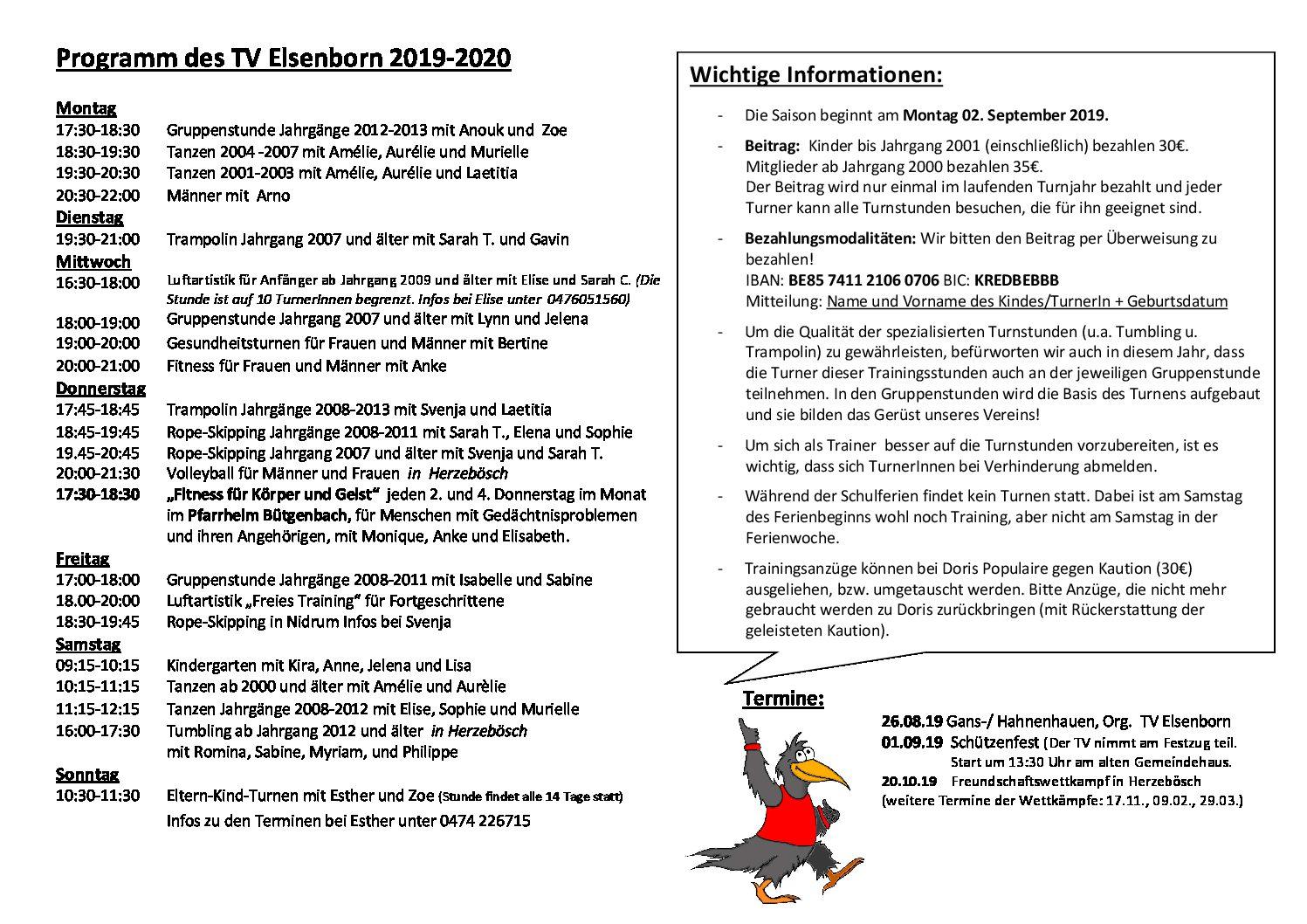 Tv Programm 2019